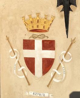 Stemma Savoia - Castello dei Solaro
