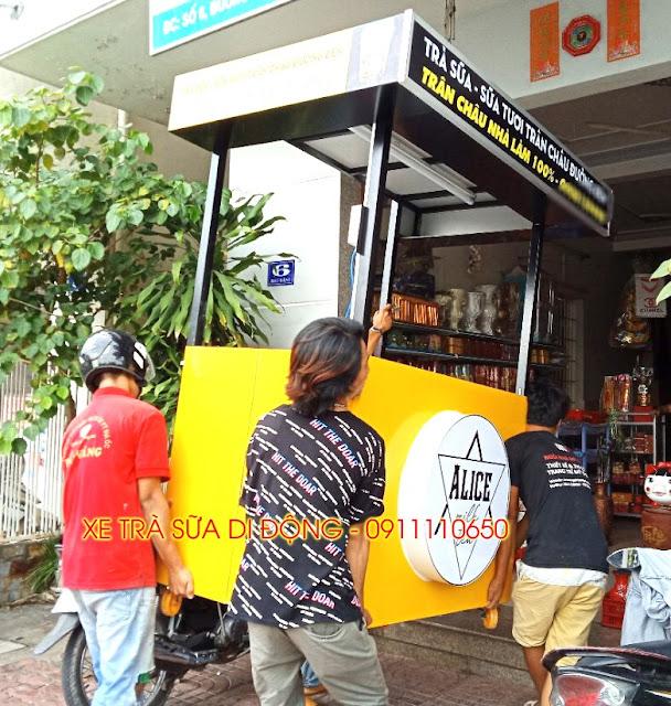 cung cap xe cafe tra sua di dong re nhat tai thu dau mot