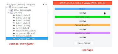 Cara Membuat Session Di Java Swing Menggunakan File XML 2