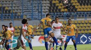 الزمالك يقلب الطاوله على فريق الإسماعيلي ويحقق الانتصار بثنائية في الدوري المصري
