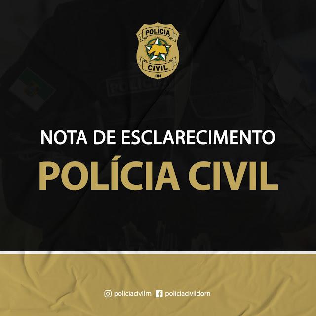 Nota de esclarecimento da Polícia Civil sobre inquérito que apura caso de agressões no Oeste do RN; veja vídeo