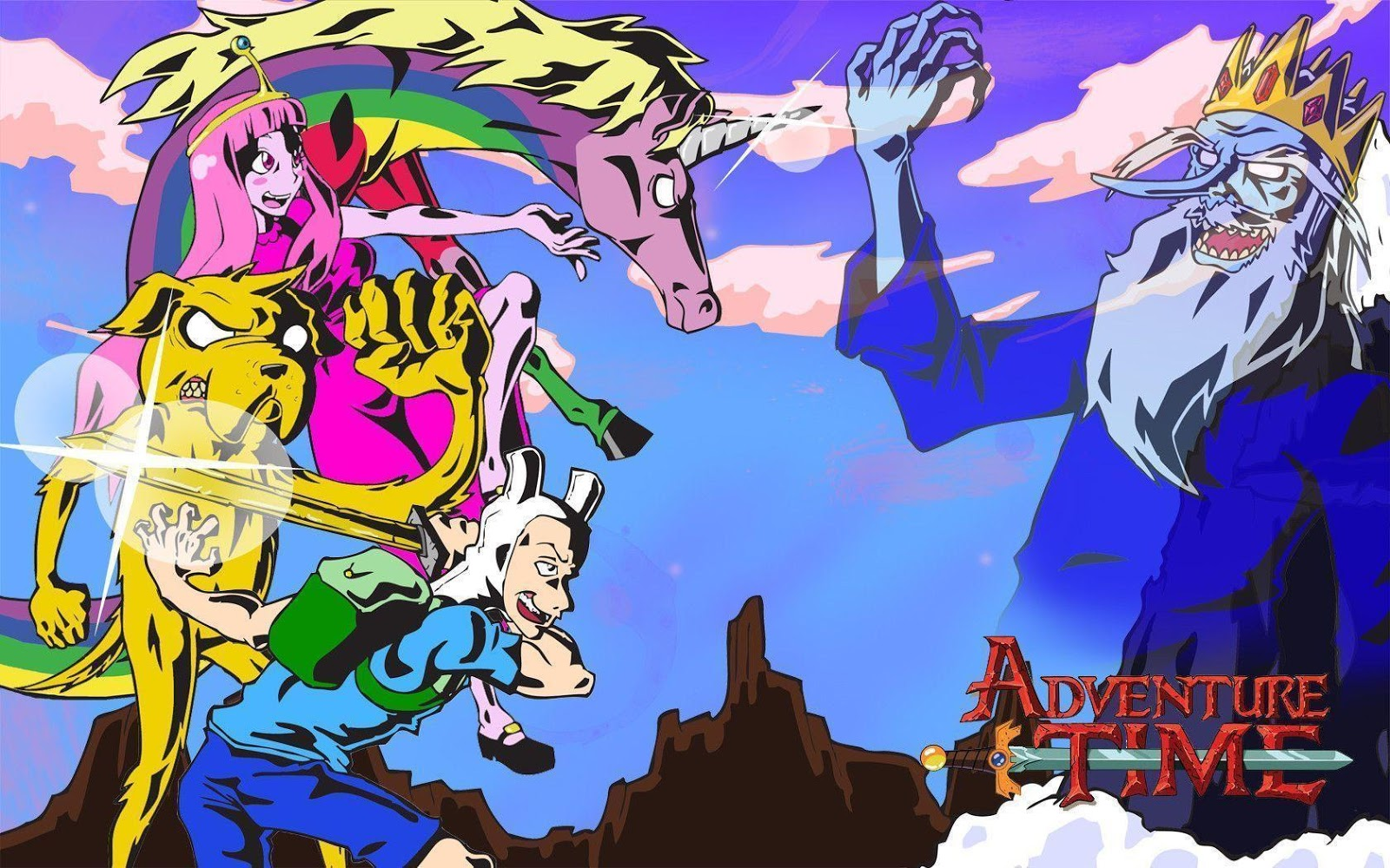 Awesome protagonistas de Adventure Time wallpapers