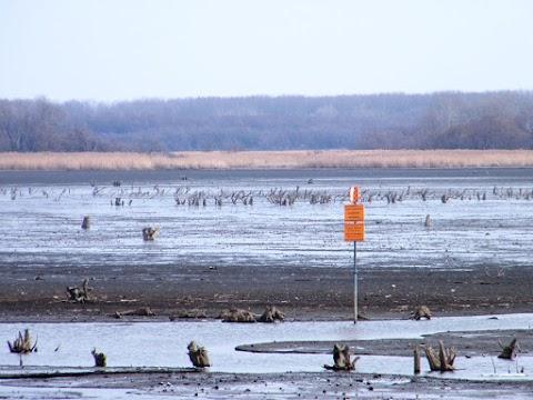 Téli vízszinten a Tisza-tó