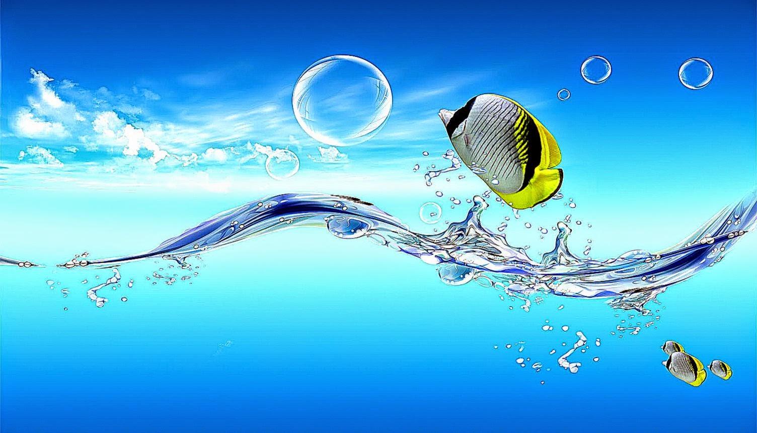 3D Water Wallpaper Widescreen | All HD Wallpapers