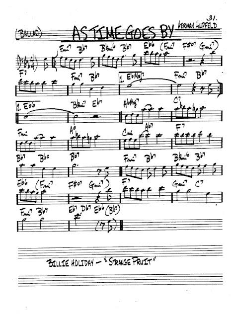 Partitura Trombón Herman Hupfeld