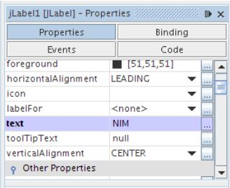 Kelas Informatika - Mengubah Atribut Label