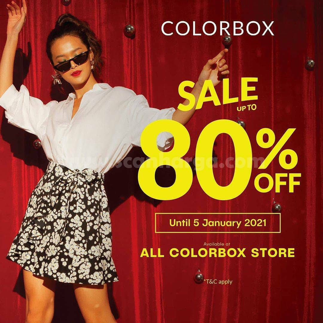 COLORBOX Promo SALE Up To 80% Off