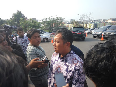 Bidang Hukum dan HAM DPW PAN Lampung Belum Diizinkan KPK Temui Zainudin.