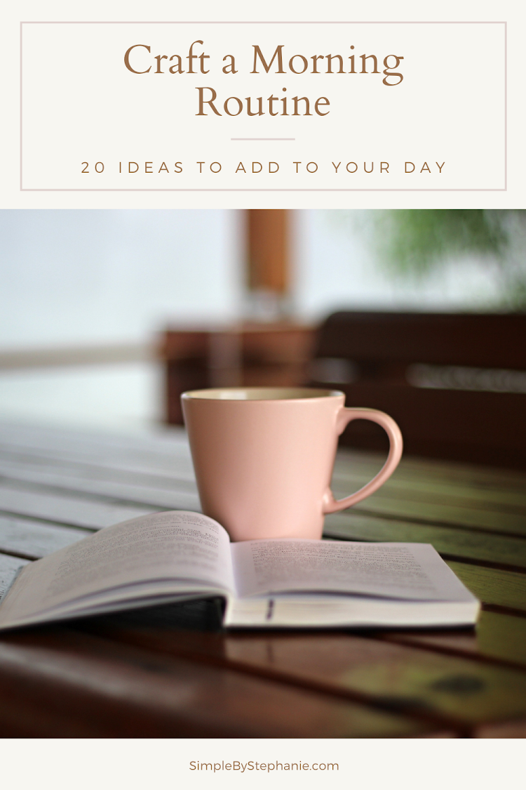 Crafting a Morning Routine