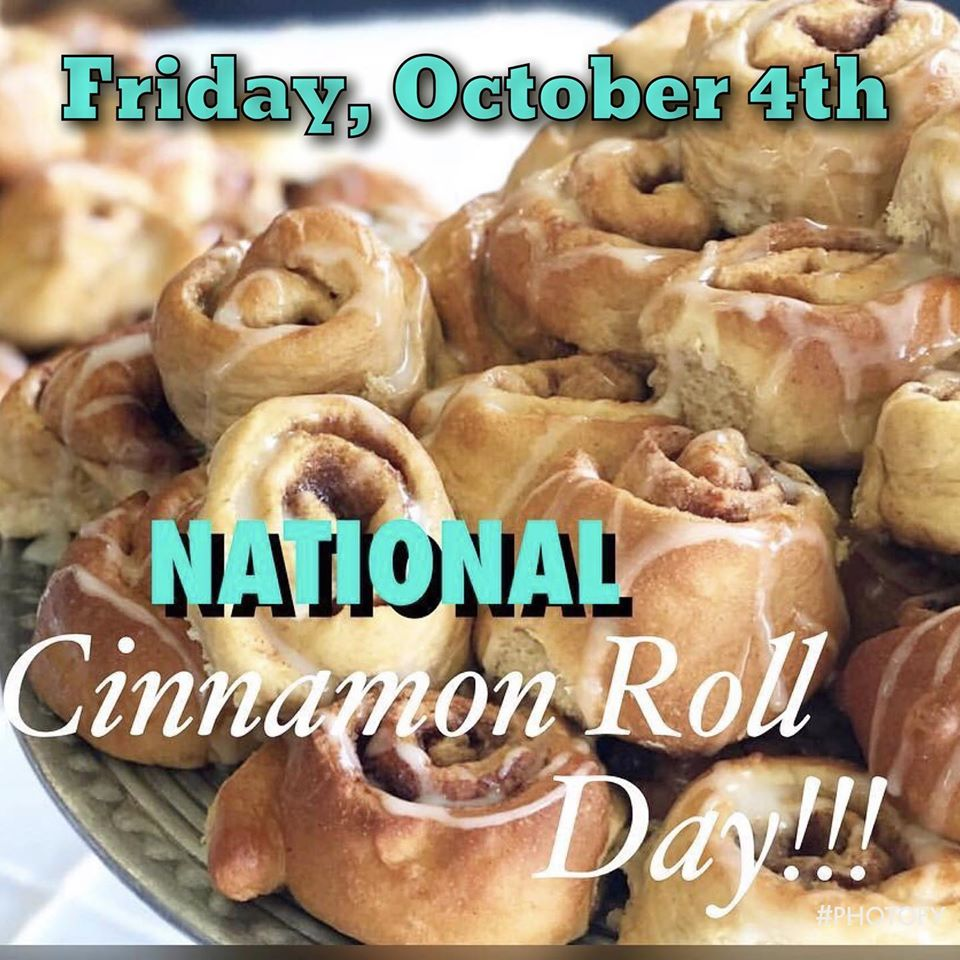 National Cinnamon Roll Day Wishes Lovely Pics