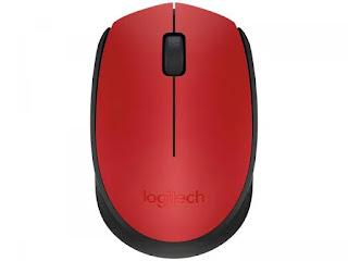 Mouse Sem Fio Logitech Óptico 1000DPI - M170