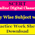 SCERT Online  Digital Classes Day Wise Subject wise  Practice Work Sheets Download