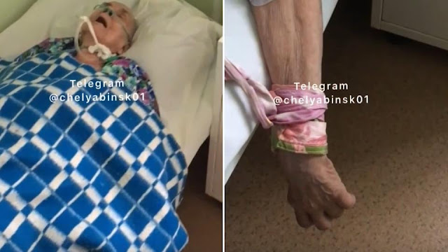 """Привязали и не лечат"": челябинка обеспокоена видом бабушки в больнице"