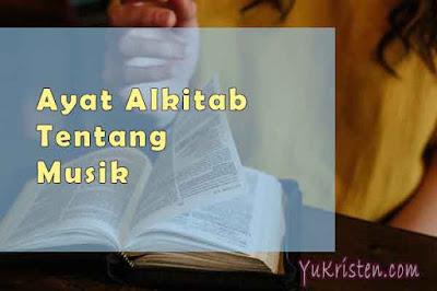 ayat alkitab tentang musik
