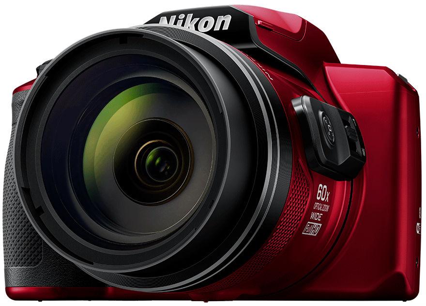 Nikon Coolpix B600, вид спереди