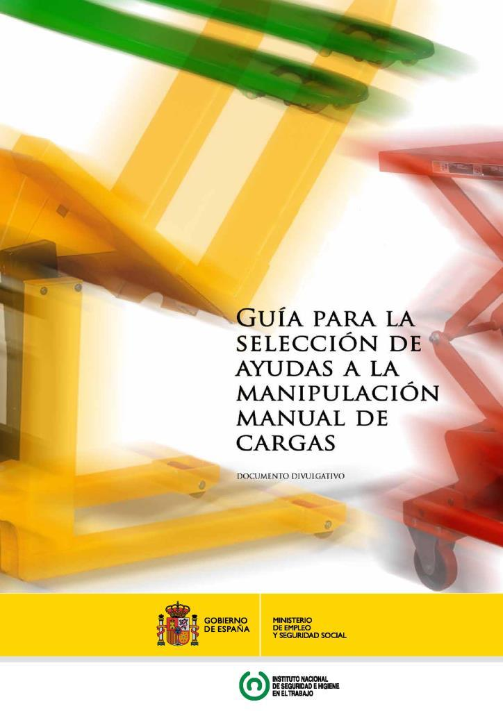 Guía para la selección de ayudas a la manipulación de cargas