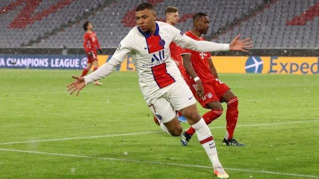 Mbappé y Keylor lideraron la victoria del PSG en la Champions Legue