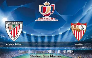 Prediksi Athletic Bilbao vs Sevilla 11 Januari 2019
