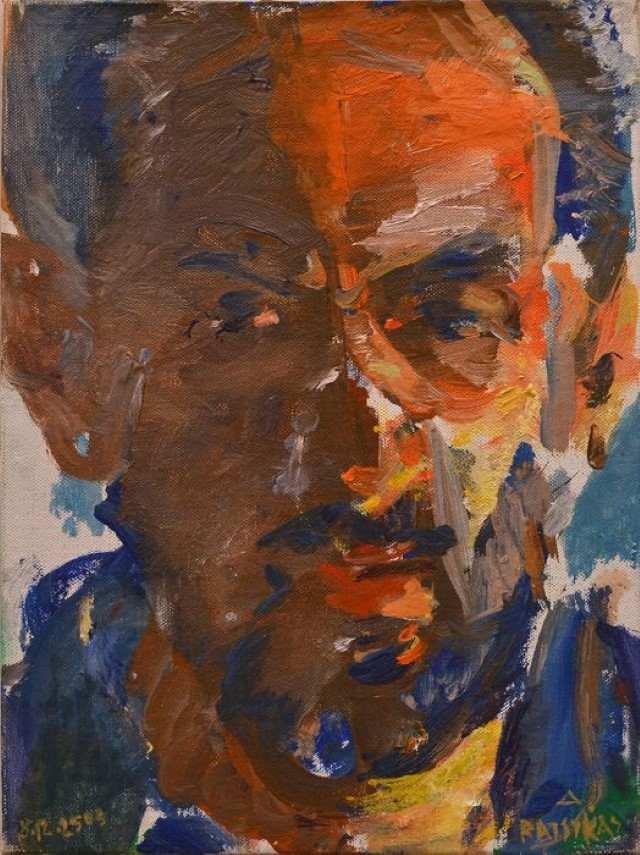 Греческий художник. Dimitris Ratsikas