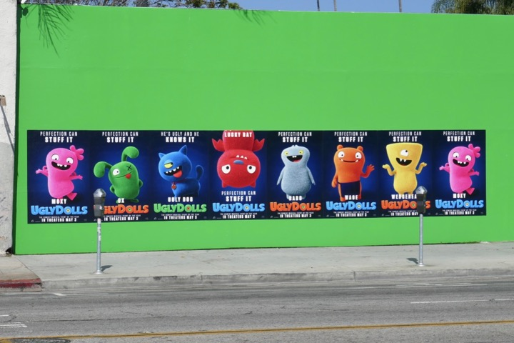 UglyDolls character street posters