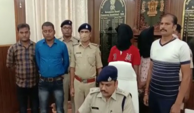 मोतिहारी पुलिस ने तस्करी के चरस के साथ दो तस्कर को किया गिरफ्तार