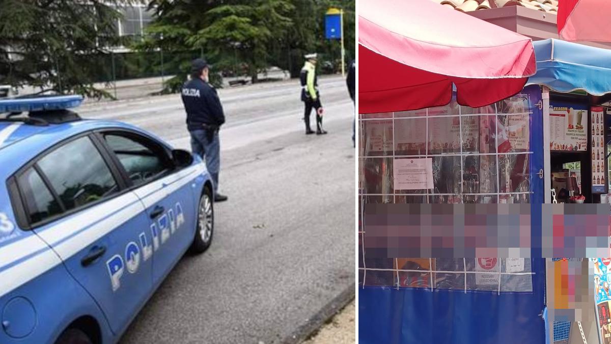 Controllo straordinario rioni Picanello Barriera Polizia di Stato