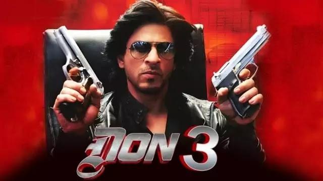 Don 3 The final chapter Shah Rukh Khan Srk