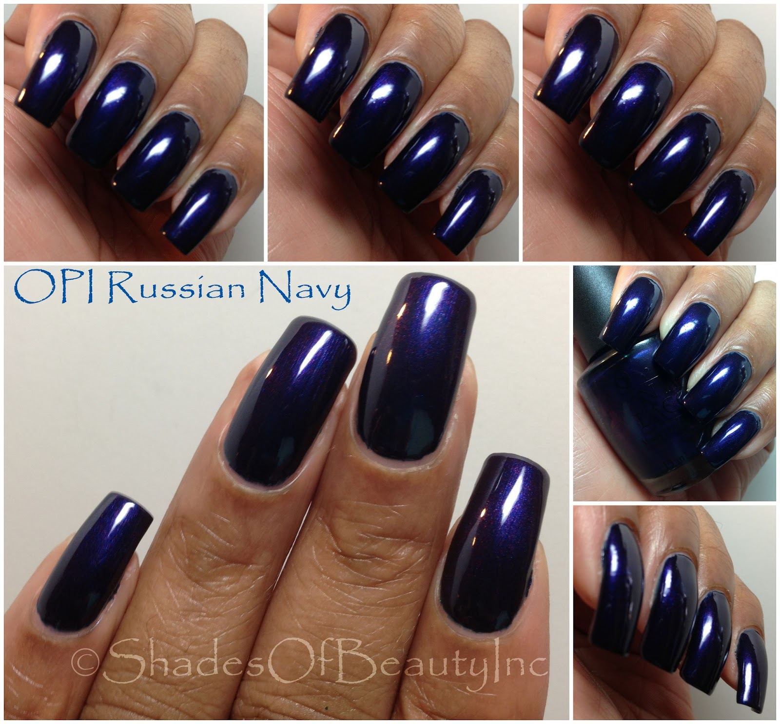 Shades of Beauty, Inc.: Random Blues Swatches...