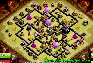Base COC th 8 Anti Bintang 3 02