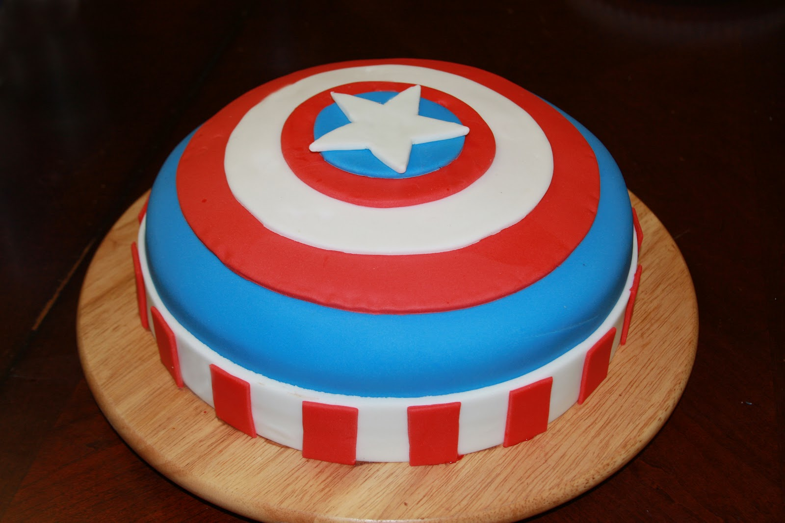 Captain America Kuchen Captain America Cakes Design