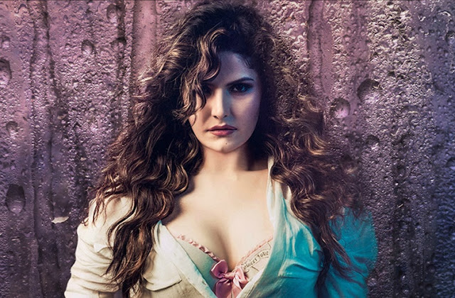Intimate Scenes Of Zareen Khan