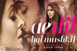 Ae Dil Hai Mushkil Movie Poster - Ranbir, Anushka, Aishwarya