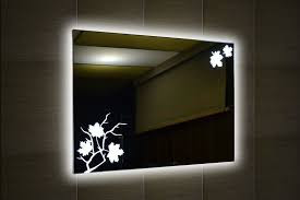 Mirrors with LED Backlight