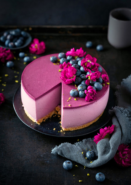 Heidelbeer-Cheesecake