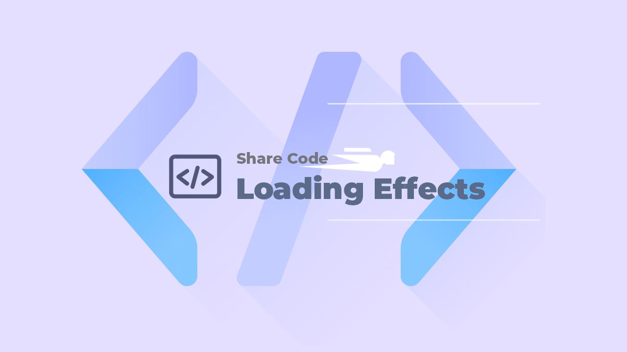 Hiệu ứng loading cho blog/website