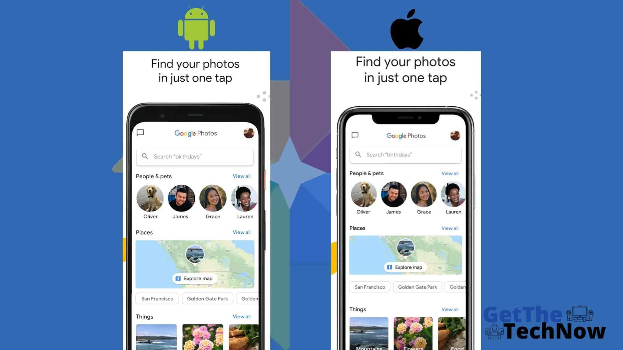 How to backup your all Android/iOS photos into one place