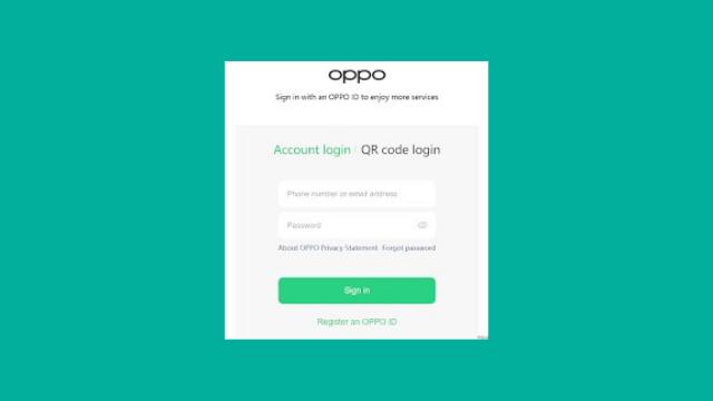 Cara Mengatasi Lupa Password OPPO ID