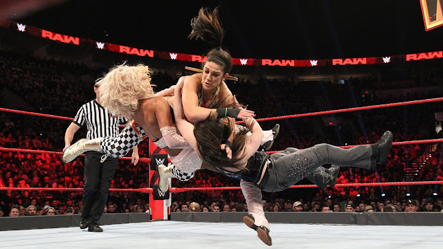 WWE The Boss 'N' Hug Connection def. Alicia Fox & Nikki Cross