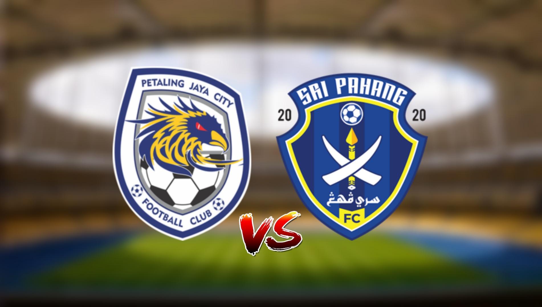 Live Streaming PJ City FC vs Sri Pahang FC Liga Super 21.3.2021