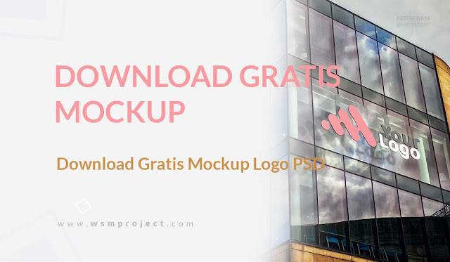 Download Gratis Mockup Logo