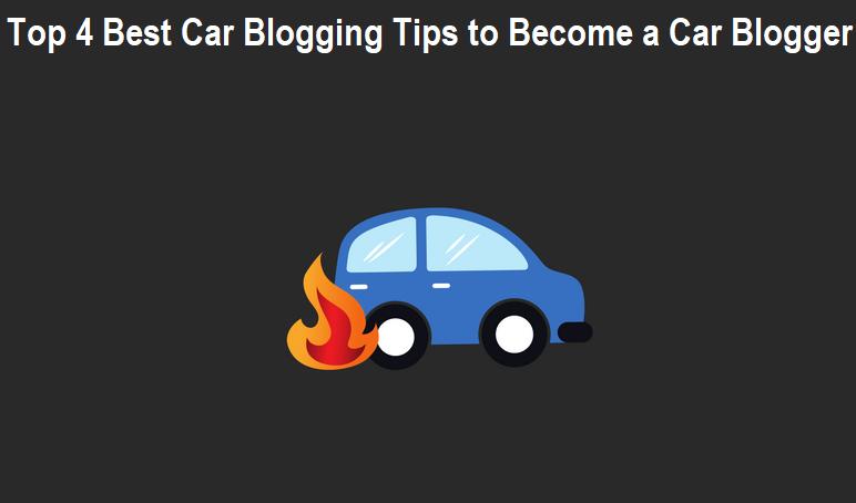 Car Blogging Tips