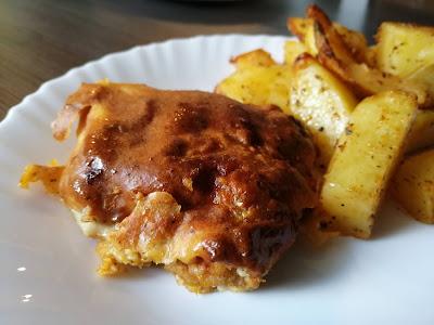 dania obiadowe, udka z kurczaka, udka z kurczaka bez kości, udka z kurczaka w cieście, udka z kurczaka w cieście naleśnikowym, dobry obiad,