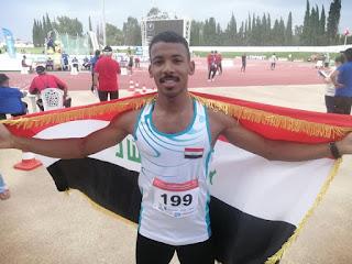 غزال البصرة يحصد ميداليتين ذهبيتين وثالثة فضية في بطولة العرب بتونس