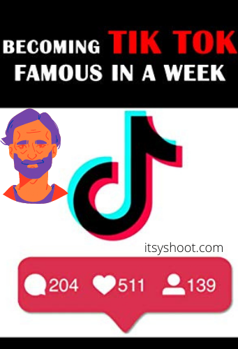 How to get famous on TikTok in 1 week.