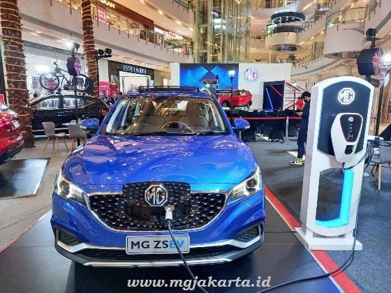 MG ZS EV Mobil Listrik MG di Perkenalkan di Indonesia