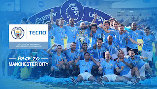 Tecno Users! Chance to Win meet the Manchester City Football Club