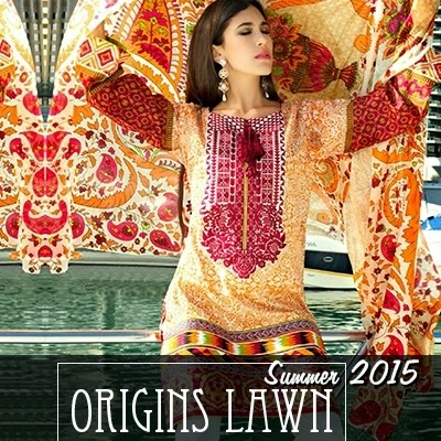 6d42d0a3f2 Origins unfolds its Lawn Collection 2015 volume 2 in ready to wear lawn  collection & unstitched - available in stores & online.