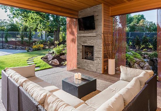 Custom Covered Porch