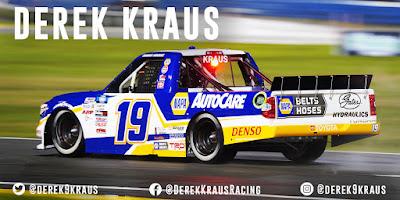 Derek Kraus: 2021 NCWTS At Cota: Race Preview