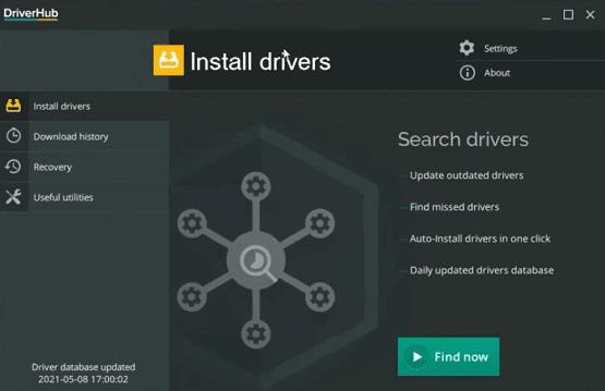 شرح برنامج DriverHub